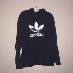 adidas black hoodie 😍😍😍